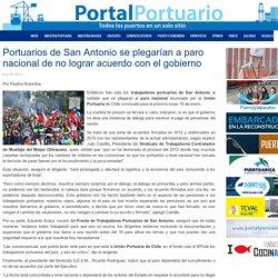 Portuarios de San Antonio se plegarían a paro nacional de no lograr acuerdo con el gobierno  - Portal Portuario