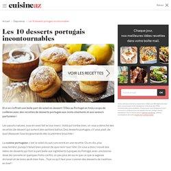 Les 10 desserts portugais incontournables - Cuisine AZ
