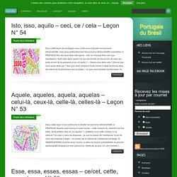 Les ressources pour apprendre le portugais du Brésil