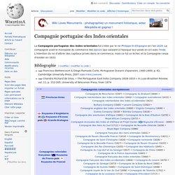 Compagnie portugaise des Indes orientales