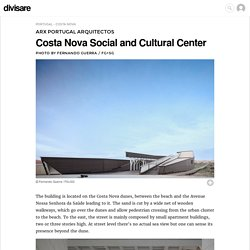 ARX Portugal Arquitectos, Fernando Guerra / FG+SG · Costa Nova Social and Cultural Center