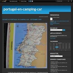 VOYAGE AU PORTUGAL EN CAMPING-CAR - SEPTEMBRE 2009 - Le blog de debolea