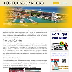 Car Rental in Portugal