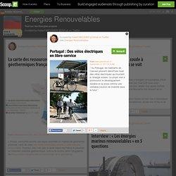 Portugal : Des vélos électriques en libre-service