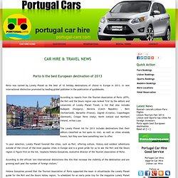 Porto is the best European destination of 2013