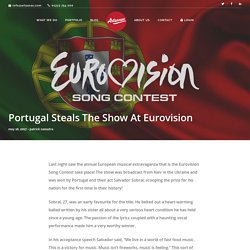 Portugal Steals The Show At Eurovision