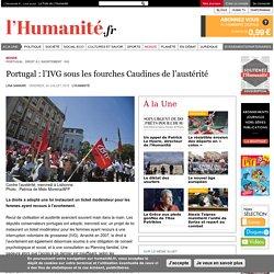 Portugal : l'IVG sous les fourches Caudines de l'austérité