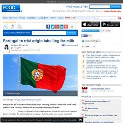 Portugal to trial origin labelling for milk