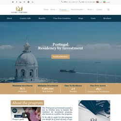 Portugal Residency by Investment Program