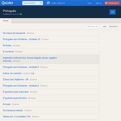 Português vocabulário - Quizlet