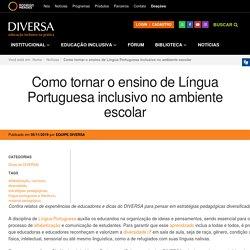 Como tornar o ensino de Língua Portuguesa inclusivo no ambiente escolar