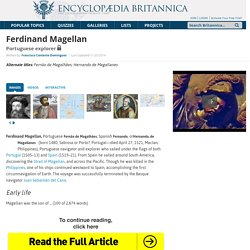 biography - Portuguese explorer