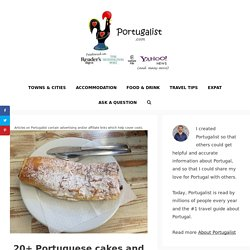 20+ Portuguese cakes and pastries to try before you die – Portugalist