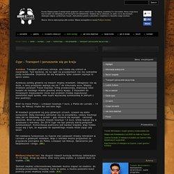 CYPR - Połączenia, Ceny, Transport, Poruszanie się po kraju - Koniecswiata.net