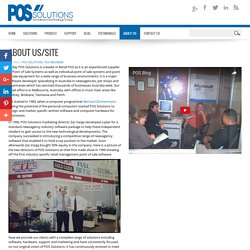 POS Solutions - About Us/Site