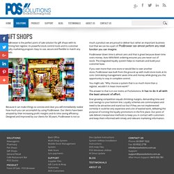 POS Solutions - Gift Shops