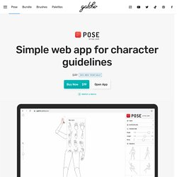 Pose - Easy Character Guidelines by Gal Shir