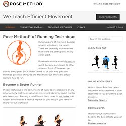 Pose Method® of Running Technique