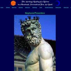 Poseidon Neptune Greek mythology gods