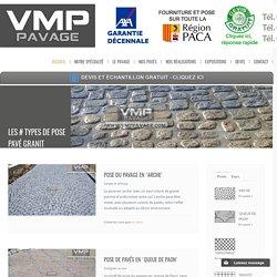 Achat pose de pavés granit en ligne chez Vmppavage.