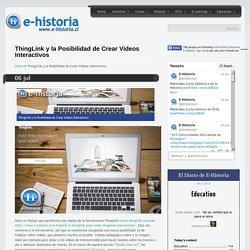 ThingLink y la Posibilidad de Crear Videos Interactivos- Un portal de historia y TIC
