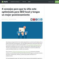 Posicionamiento SEO: Como mejorar el SEO local de tu tienda en linea y el posicionamiento en buscadores