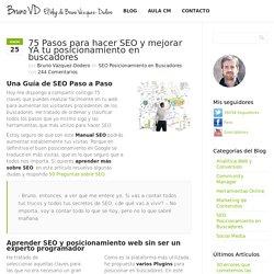 75 Pasos para hacer SEO y posicionamiento en buscadores YA