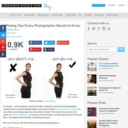 4 Posing Tips Every Photographer Needs to Know