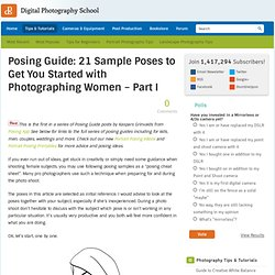 21 Sample Poses to Get You Started with Photographing Female Subjects