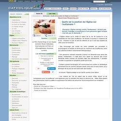 Quelle est la position de l'Eglise sur l'euthanasie? - Euthanasie - Catholique.org