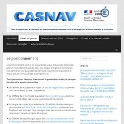 Le positionnement – CASNAV de l'académie de Grenoble