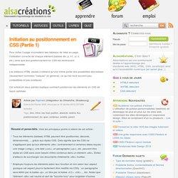 Initiation au positionnement en CSS (Partie 1)