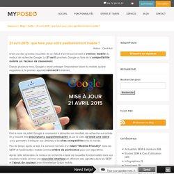 21 avril 2015 : que faire pour votre positionnement mobile ?