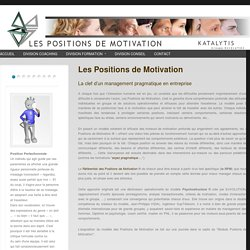 Les Positions de Motivation