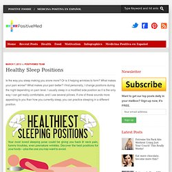 Healthy Sleep Positions