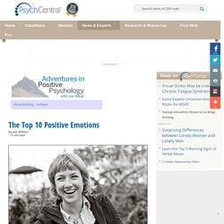 Adventures in Positive Psychology