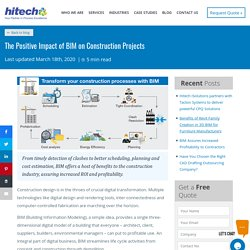 The Positive Impact of BIM on Construction Projects