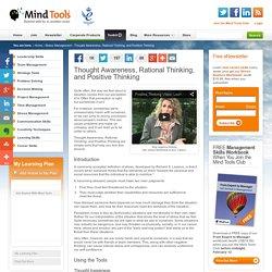 Positive Thinking - Stress Management Training from MindTools.com