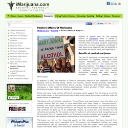 Positive Effects Of Marijuana - iMarijuana.com