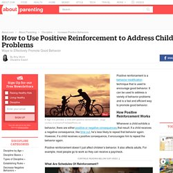 How to Use Positive Reinforcement to Address Child Behavior
