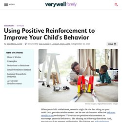 Using positive reinforcement schedule
