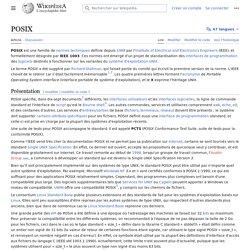 POSIX