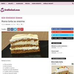 Posna torta sa orasima