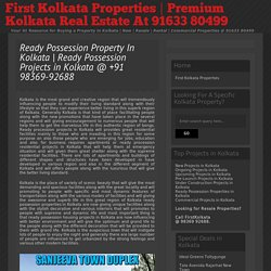 Ready Possession Properties In Kolkata