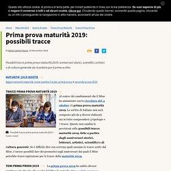 Possibili tracce maturità 2019: tototema per il nuovo esame di Stato