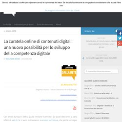 Antonio Fini: La curatela online di contenuti digitali – BRICKS