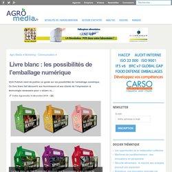 Livre blanc: les possibilités de l'emballage numérique