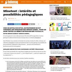 Minetest : intérêts et possibilités pédagogiques – Ludovia Magazine