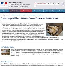 Explorer les possibilités : résidence d'Arnaud Vasseux aux Tuileries Monier