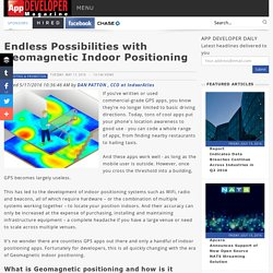 Endless Possibilities with Geomagnetic Indoor Positioning/